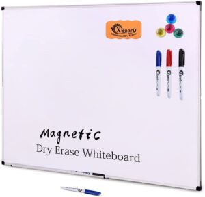 XBoard Double-Sided 36 x 24 Inch Magnetic Dry Erase Board Set
